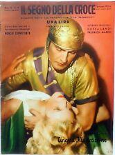 CINEMA ILLUSTRAZIONE SUPP. N.7 1933 IL SEGNO DELLA CROCE ELISSA LANDI MARCH