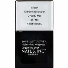 Nails Inc - Plant Power Nail Polish Collection - Topcoat 14ml