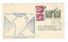 1958 Mesters Vig Sottish East Greenland Expedition, Copenhagen Transit to US