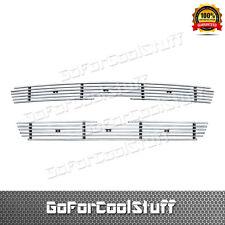 For Ford F150 Pickup/Light F-250 Fits 1997-1998 Upper Billet Grill Grille Insert