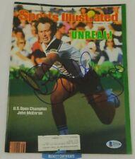 John McEnroe Signed Sports Illustrated Cover 9.17.84 Tennis HOF US Open BAS