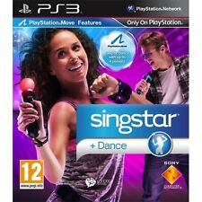 SingStar Dance Move Compatible PS3 PlayStation3 Video Game Mint Cond UK Release