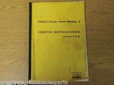 FANUC POWER MATE- MODEL E CONNECTION MAINTENANCE MANUAL B-62115E/02