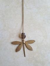 Collana donna libellula con pietra