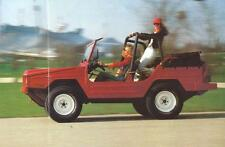 Old Print.  1979 Volkswagen Iltis Auto Ad
