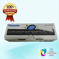 New & Original Panasonic KX-FA76A Black Toner Cartridge KX-FL501 KX-FL502