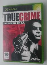 XBOX: TRUE CRIME STREETS OF LA-Jeu Vidéo