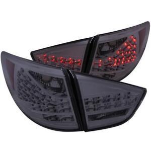 ANZO LED Taillights Smoke 4pc For 2010-2013 HYUNDAI TUCSON