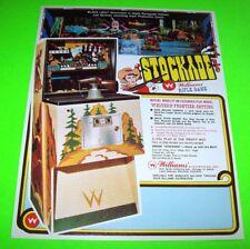 Williams STOCKADE 1972 Original NOS Rifle Gun Arcade Game Promo Sales Flyer
