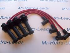 RED 8MM PERFORMANCE IGNITION LEADS ZETEC S FOCUS FUSION PUMA QUALITY HT LEADS