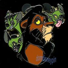Disney Pin *Villain & Sidekick* Collection - Scar with Shenzei, Banzai & Ed!