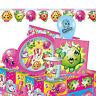Shopkins - Gamme de Fête D'Anniversaire (Vaisselle,Ballons & Décorations) Filles