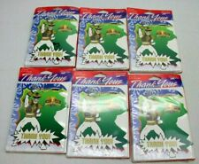 Mighty Morphin Power Rangers Thank You Cards 6 sets of 8 Cards (48) White Ranger