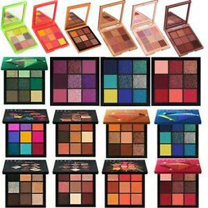 9 Colors Eyeshadow Palette Make Up Eyeshadow Neon Pink Mauve Topaz Ruby