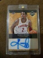 2011-12 Panini limited Kyrie Irving Rookie Card Autographed Number 1