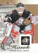 2013-14 Fleer Showcase Hockey #11 Dominik Hasek Buffalo Sabres