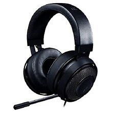Razer Kraken Pro V2 Round Ear Cushions 3.5mm Jack Gaming Headset w Mic Black LE