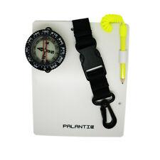 "Palantic Scuba Dive Writing Slate with 2"" Compass & Pencil"