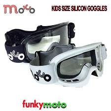 Mx-Enfants-Moto-Lunettes Motocross Casque Enduro Terrain Hors Route Œil Protect