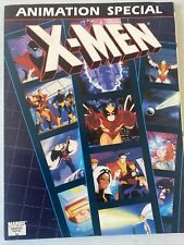 X-MEN ANIMATION SPECIAL.  SCARCE. GRAPHIC NOVEL. FN+ CONDOTION. .