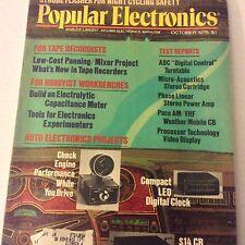 Popular Electronics Magazine Check Engine Performance October 1976 071917nonrh