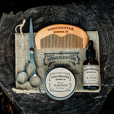 Beard Grooming Travel Kit  'The Outlaw' Great mens gift idea !