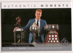 2017-18 SP Authentic Authentic Moments Set 101-115 McDavid Matthews Hischier