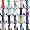 "57"" Fashion Classic 8CM mens tie Man Silk ties Paisley Striped Jacquard Necktie"