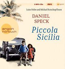 DANIEL SPECK- LUISE HELM/MICHAEL ROTSCHOPF - PICCOLA SICILIA  3 MP3 CD NEW