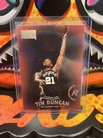 97-98 SKYBOX PREMIUM - Tim Duncan Rookie Card RC - San Antonio Spurs