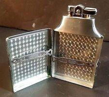 VINTAGE 1940S RONSON CIGARETTE LIGHTER WITH BUILT IN CIGARETTE CASE