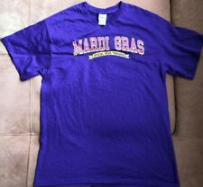 Mardi Gras Official Bead Thrower T-shirt Size L / Large