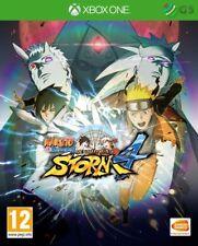 Naruto SHIPPUDEN ULTIMATE NINJA STORM 4 XBOX ONE * NUOVO SIGILLATO PAL *