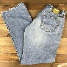 Lucky Brand Women's Denim Light Wash Jeans Size 8/29 (32x34) Mid Rise USA Made