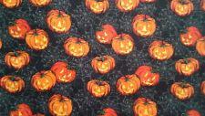 Pumpkin jack o lantern halloween on spider webs Valance