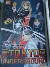 Tokyo Underground, Tome 3 Akinobu Uraku TAIFU MANGA FANTASTIQUE SCIENCE FICTION