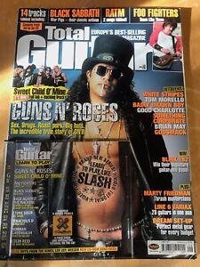 Total Guitar magazine & CD, Volume 110, June 2003
