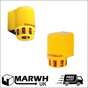 Klaxon SLM-0001 Security Alarm Sounder Loud 127dB Yellow AC Siren MasterBlaster