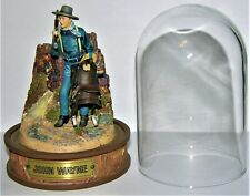 Limited Ed. Franklin Mint John Wayne Dome Sculpture