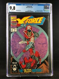 X-Force #2 CGC 9.8 key issue second appearance Deadpool Rob Liefeld MARVEL