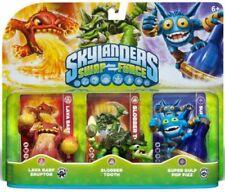 Skylanders Swap Force 3 Pk Lava Barf Eruptor, Slobber Tooth, Super Gulp Pop Fizz