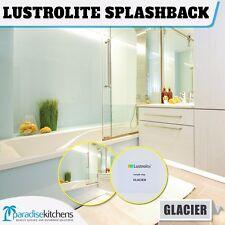 new lustrolite glacier acrylic kitchen splash back better than glass 2700x760