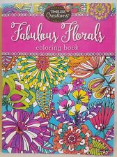 fabulous floral adult coloring book coloring book