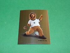 N°2 MASCOTTE PANINI FOOTBALL GERMANY 2006 COUPE MONDE WM FIFA WORLD CUP