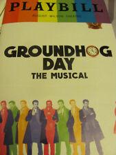 GROUNDHOG DAY Playbill PRIDE ANDY KARL Broadway Musical New York Rocky
