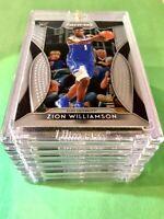 Zion Williamson ROOKIE CARD PANINI PRIZM INSERT CARD DRAFT PICKS RC #64 - Mint!