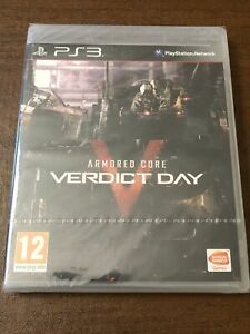 BRAND NEW Armored Core: Verdict Day (Sony PlayStation 3, 2013) Region Free