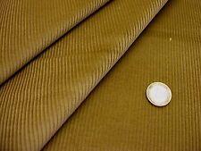 Tissu velours à côtes moyennes marron curry  50 cms * 150 cms NEUF