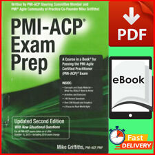 PMI-ACP Exam Prep By Mike Griffiths ✔️ Updated Second Edition ✔️[P.D.F]🔥