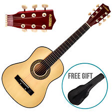 """Kenwell 30"""" Classical Guitar w/Nylon Strings w/Carrying Bag&Accessories Natural"""